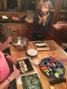 Sushi Night! @ Hooked Halifax