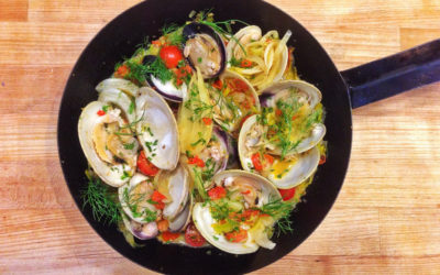 Fennel Steamed Clams