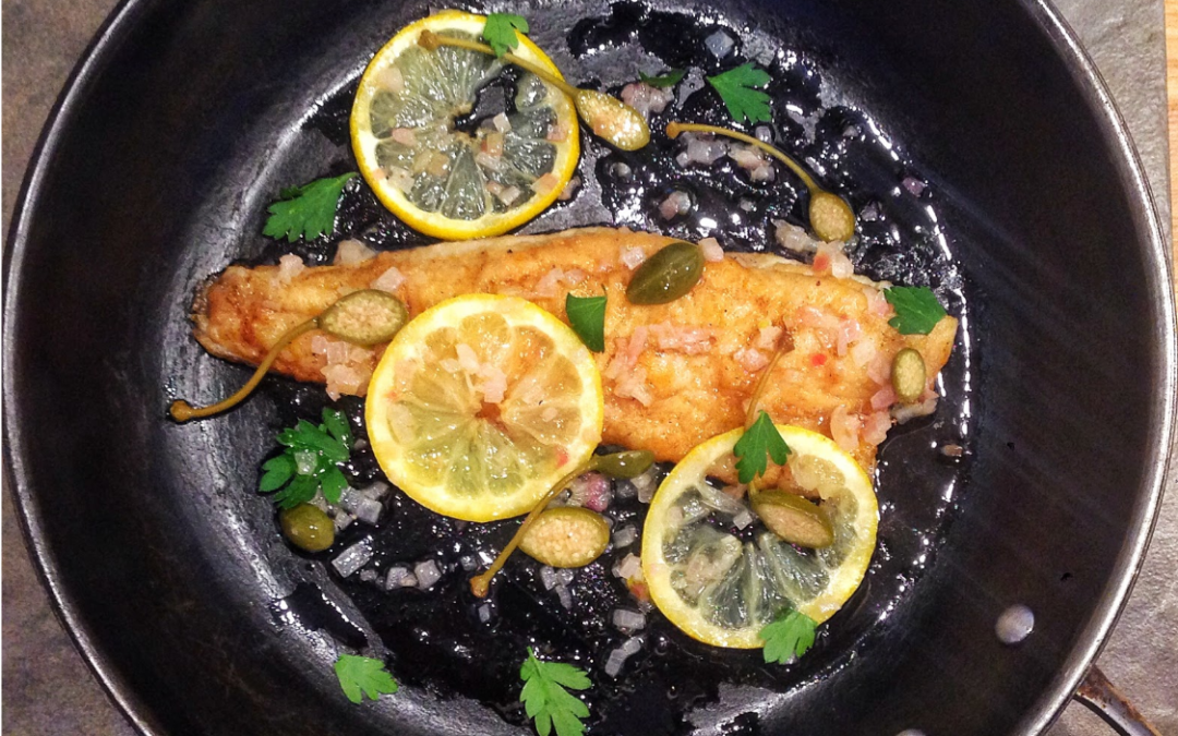 Pickerel Piccata